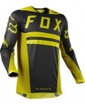 Мото джерси FOX FLEXAIR PREEST JERSEY [DRK YLW]