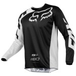 Мото джерси FOX 180 RACE JERSEY [BLACK]