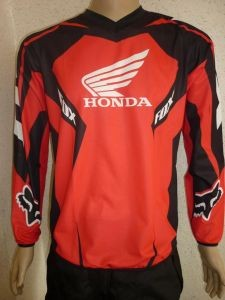 Футболка FOX HONDA #6 ― MOTOCROSS-PARTS.COM.UA